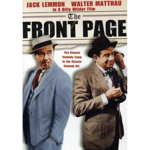 The Front Page [DVD] [1974] [Region 1] [US Import] [NTSC]